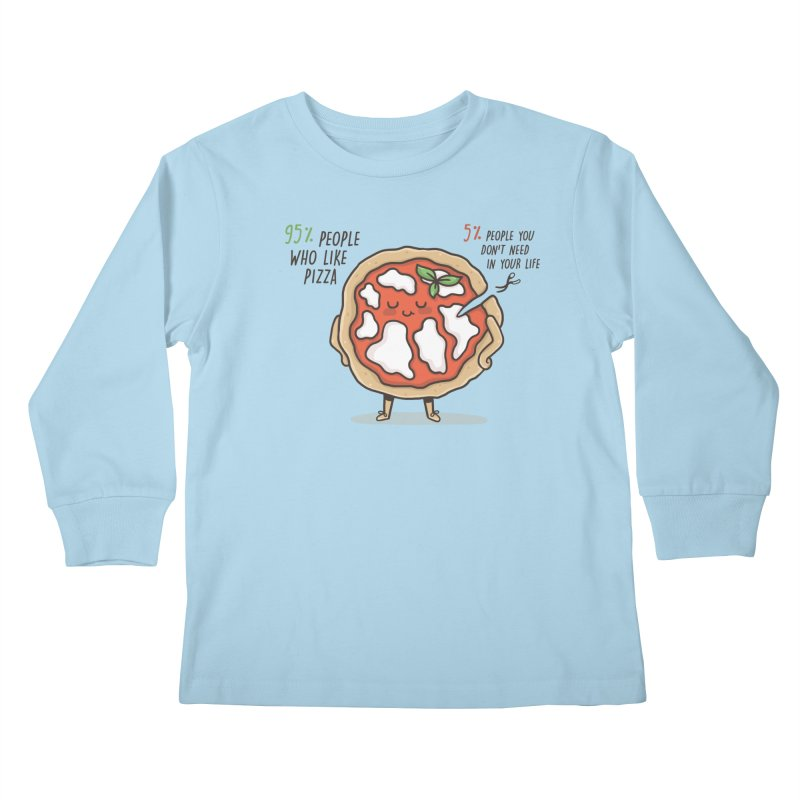 Who Needs Them!  Kids Longsleeve T-Shirt by Slogantees