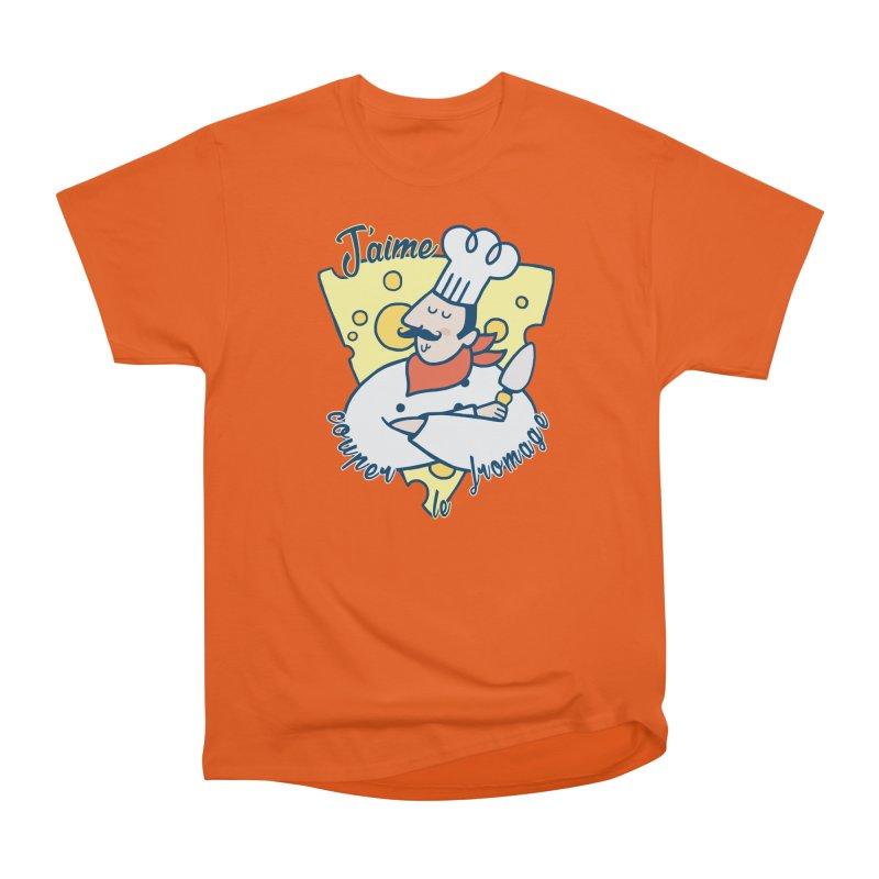 J'aime Couper le Fromage Women's Classic Unisex T-Shirt by Slogantees