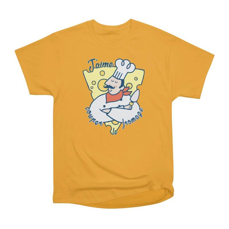 J'aime Couper le Fromage Men's Classic T-Shirt by Slogantees
