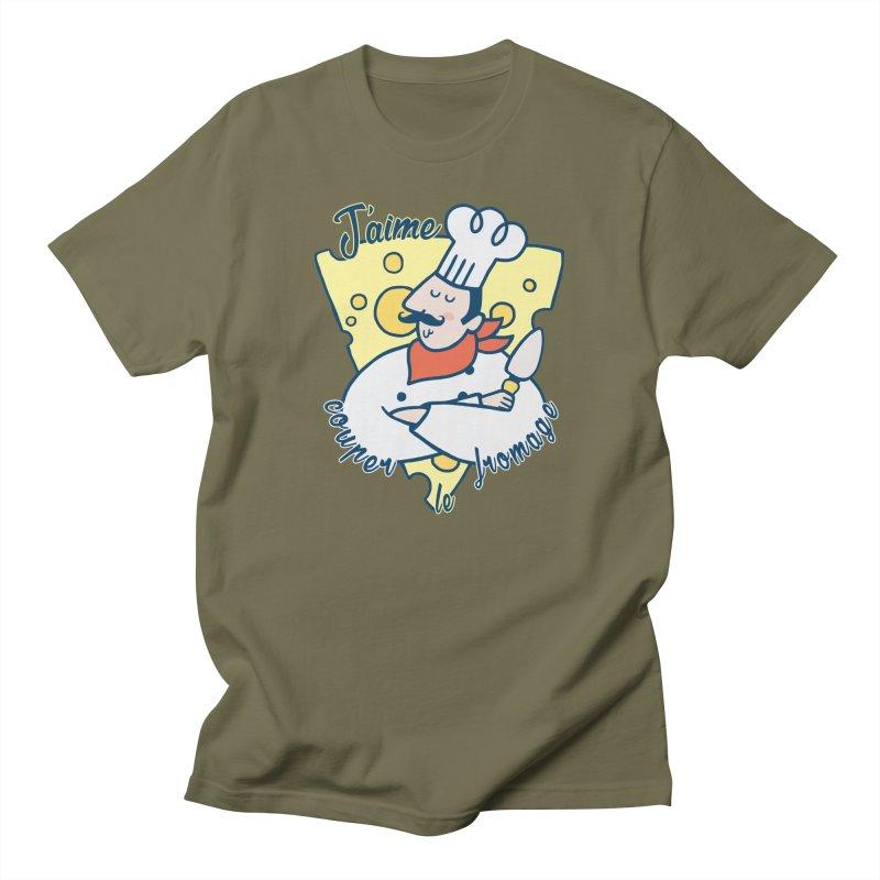 J'aime Couper le Fromage Women's Unisex T-Shirt by Slogantees