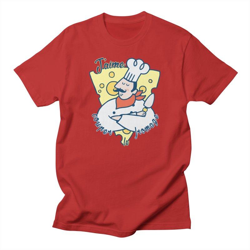 J'aime Couper le Fromage Men's T-shirt by Slogantees
