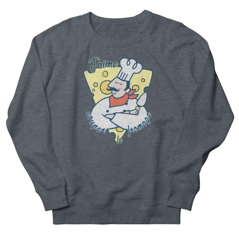 J'aime Couper le Fromage Men's Sweatshirt by Slogantees