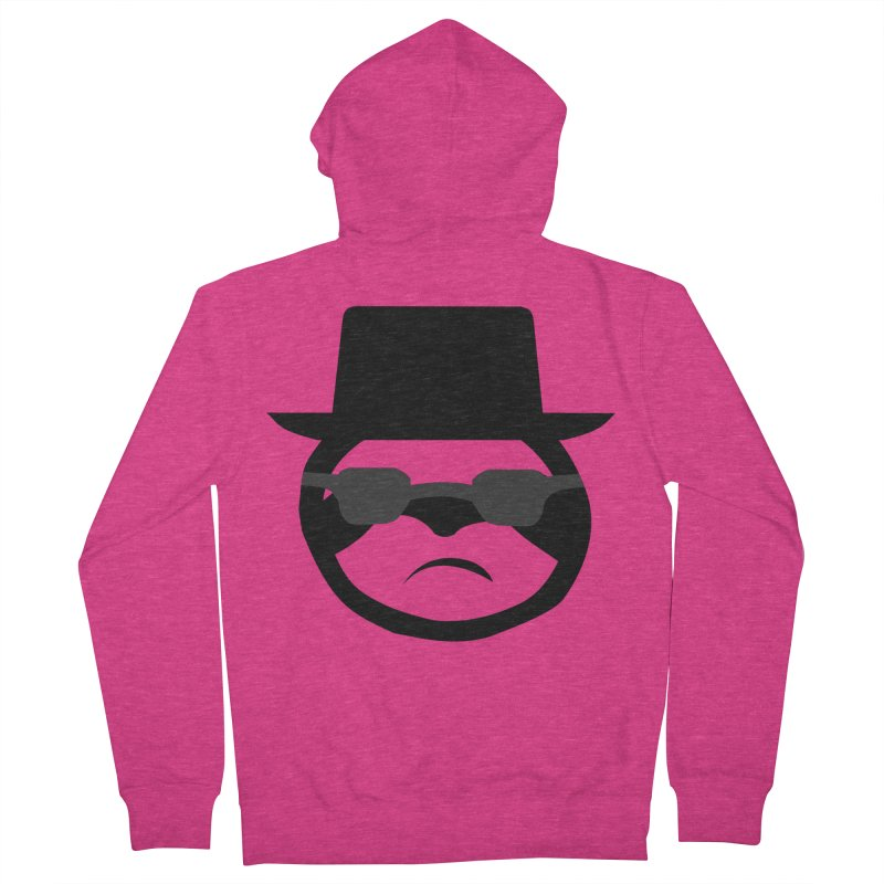 Heisensloth Women's French Terry Zip-Up Hoody by slothcrew's Artist Shop