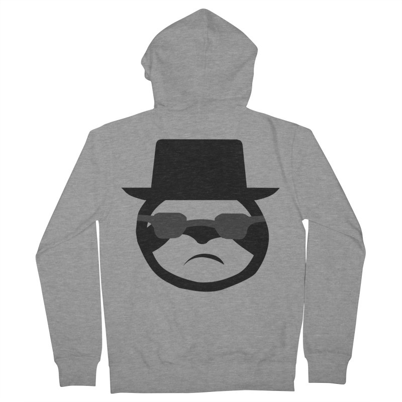 Heisensloth Men's French Terry Zip-Up Hoody by slothcrew's Artist Shop