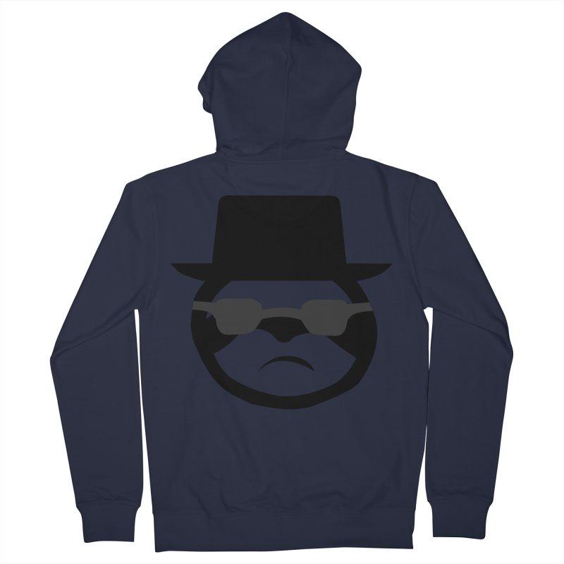 Heisensloth Men's French Terry Zip-Up Hoody by slothcrew's Artist Shop