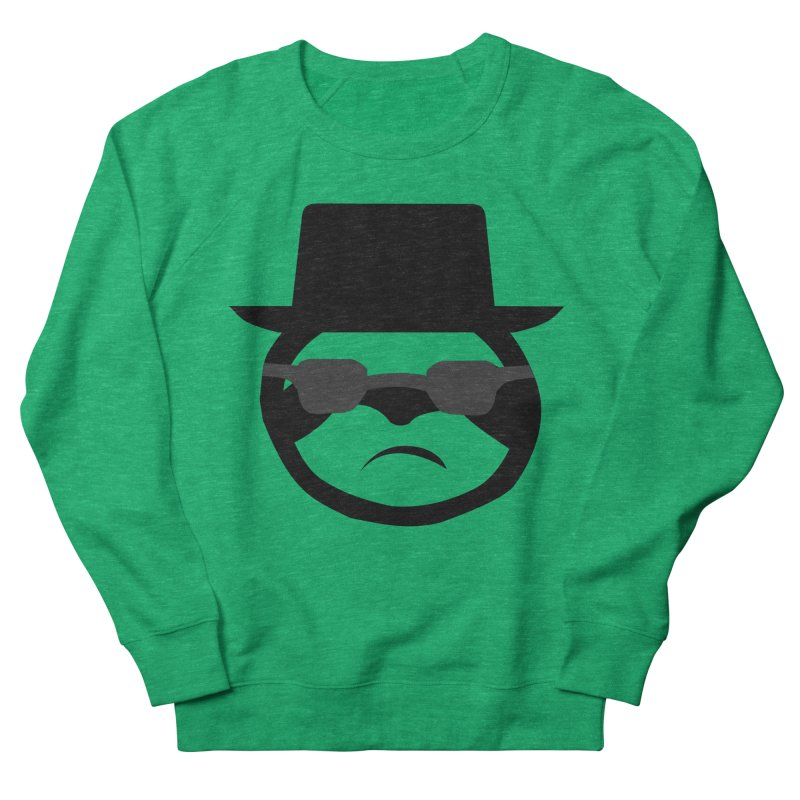 Heisensloth Men's French Terry Sweatshirt by slothcrew's Artist Shop