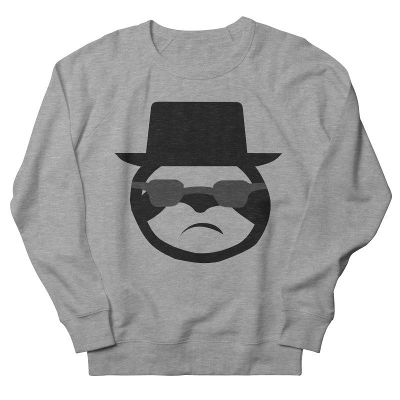 Heisensloth Men's French Terry Sweatshirt by slothcrew's Artist Shop