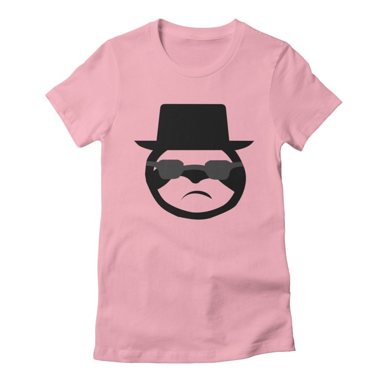 Heisensloth Women's Fitted T-Shirt by slothcrew's Artist Shop