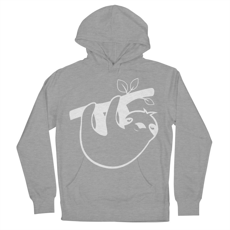 Hang in there Men's French Terry Pullover Hoody by slothcrew's Artist Shop