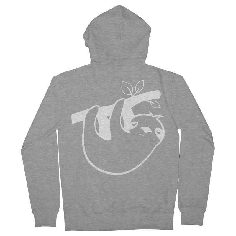 Hang in there Women's French Terry Zip-Up Hoody by slothcrew's Artist Shop