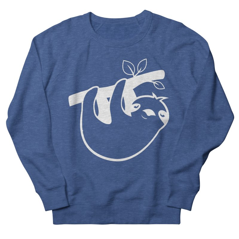 Hang in there Men's French Terry Sweatshirt by slothcrew's Artist Shop