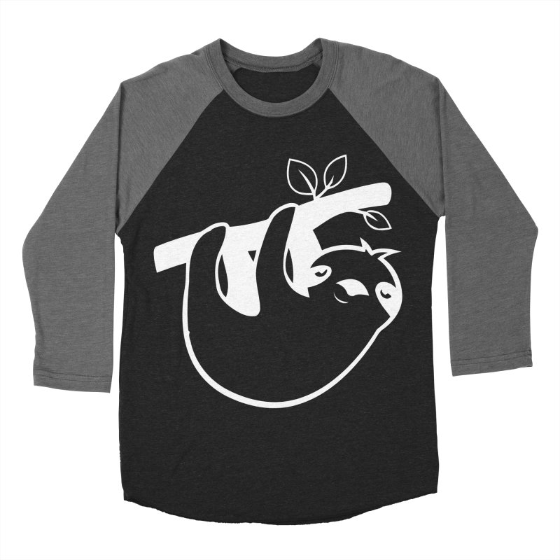 Hang in there Men's Baseball Triblend Longsleeve T-Shirt by slothcrew's Artist Shop