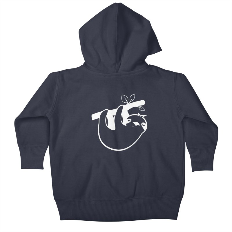 Hang in there Kids Baby Zip-Up Hoody by slothcrew's Artist Shop