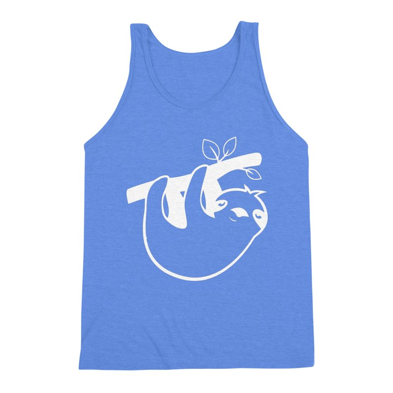 Hang in there Men's Triblend Tank by slothcrew's Artist Shop