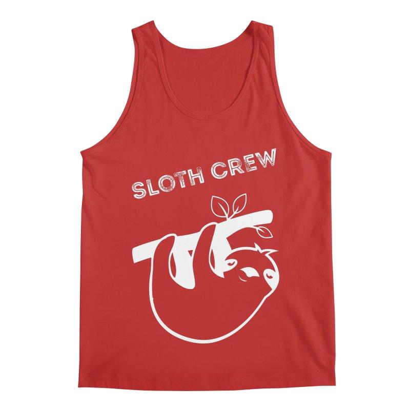 Sloth Crew Men's Regular Tank by slothcrew's Artist Shop