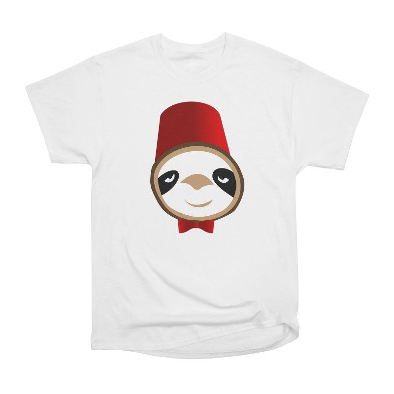 Doctor Sloth Men's Heavyweight T-Shirt by slothcrew's Artist Shop