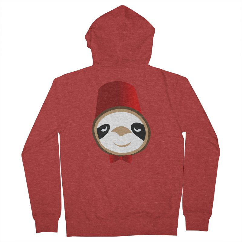 Doctor Sloth Men's French Terry Zip-Up Hoody by slothcrew's Artist Shop
