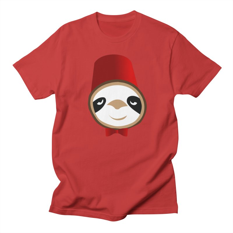 Doctor Sloth Men's Regular T-Shirt by slothcrew's Artist Shop
