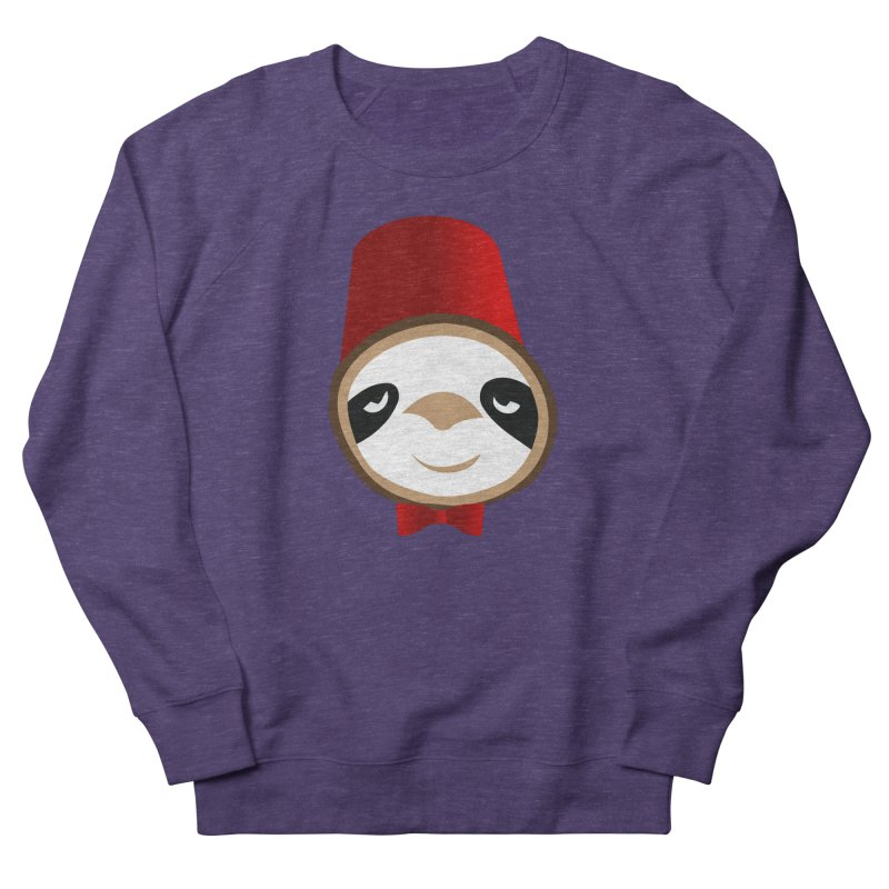 Doctor Sloth Women's French Terry Sweatshirt by slothcrew's Artist Shop