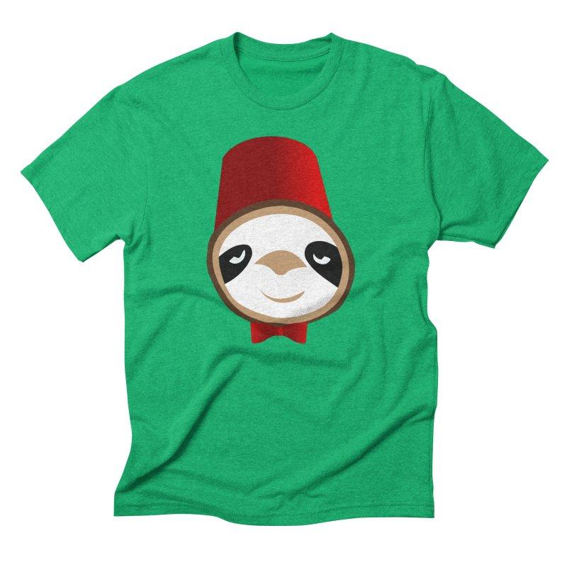 Doctor Sloth Men's Triblend T-Shirt by slothcrew's Artist Shop
