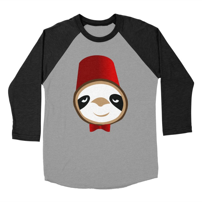 Doctor Sloth Women's Baseball Triblend Longsleeve T-Shirt by slothcrew's Artist Shop