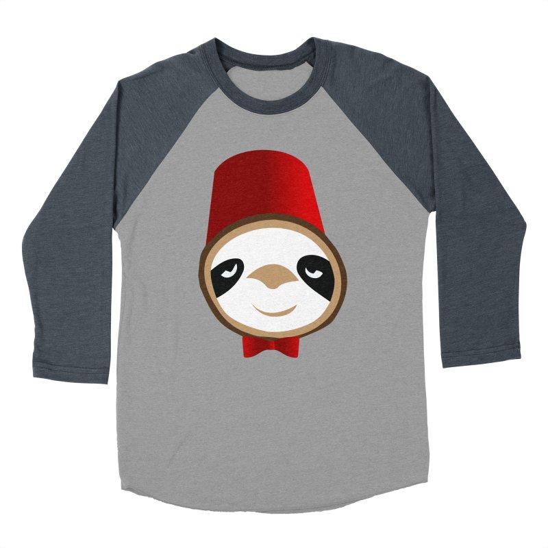 Doctor Sloth Women's Baseball Triblend Longsleeve T-Shirt by slothcrew's Artist Shop