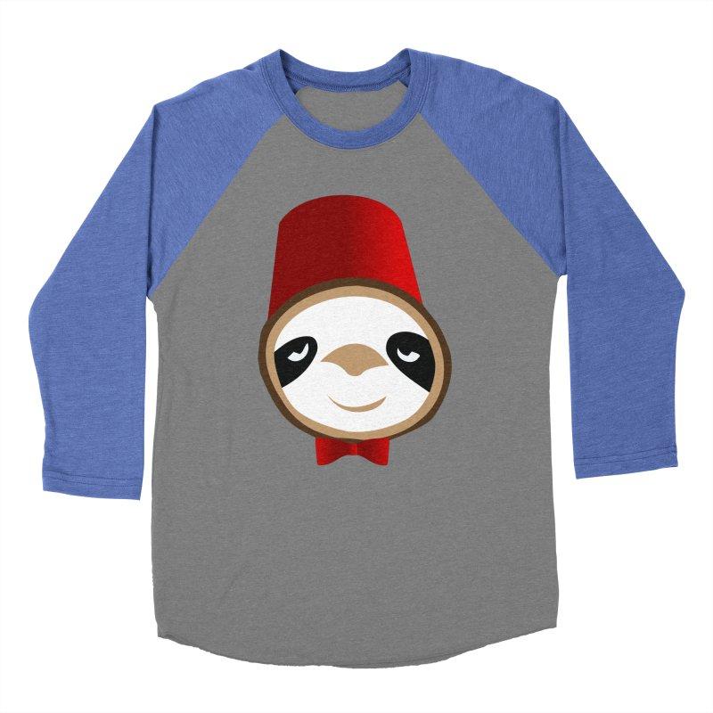 Doctor Sloth Men's Baseball Triblend Longsleeve T-Shirt by slothcrew's Artist Shop