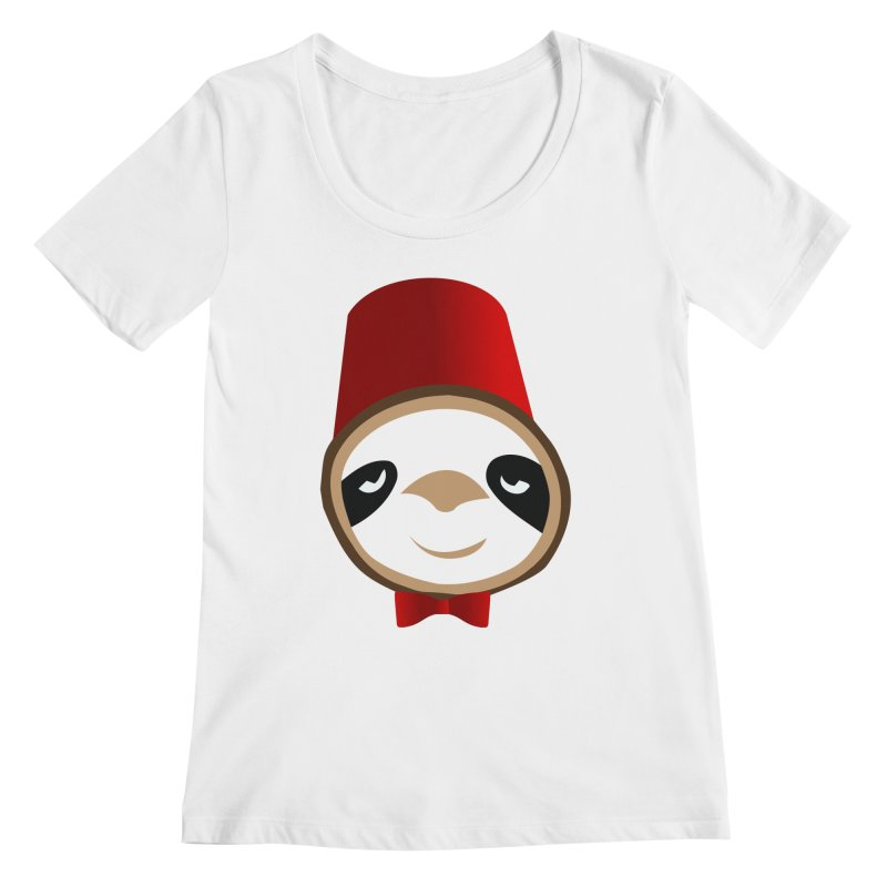 Doctor Sloth Women's Regular Scoop Neck by slothcrew's Artist Shop
