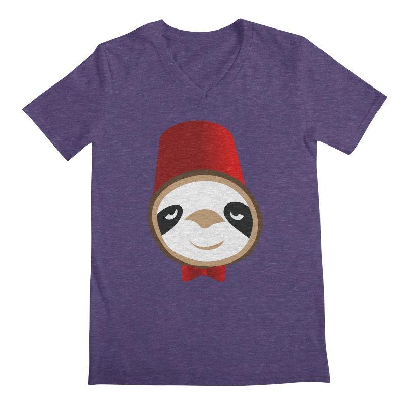 Doctor Sloth Men's Regular V-Neck by slothcrew's Artist Shop
