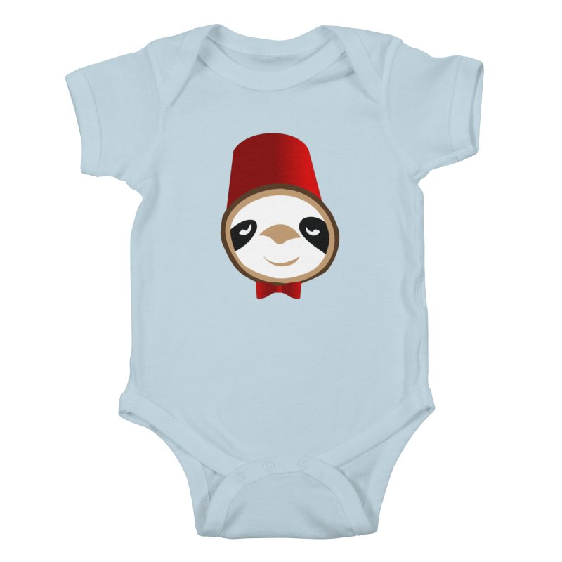 Doctor Sloth Kids Baby Bodysuit by slothcrew's Artist Shop