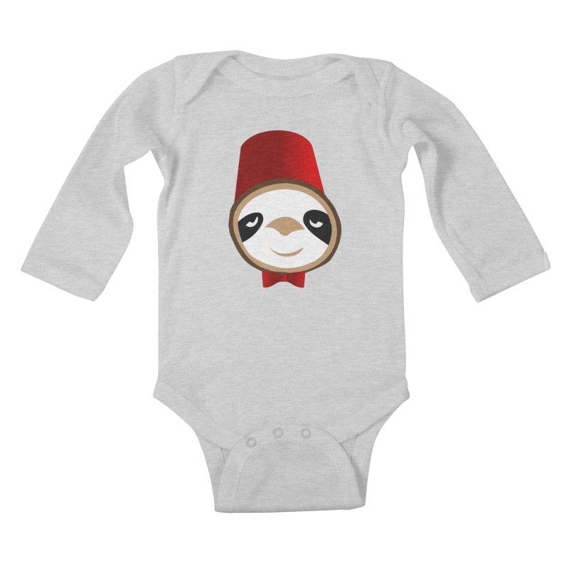 Doctor Sloth Kids Baby Longsleeve Bodysuit by slothcrew's Artist Shop