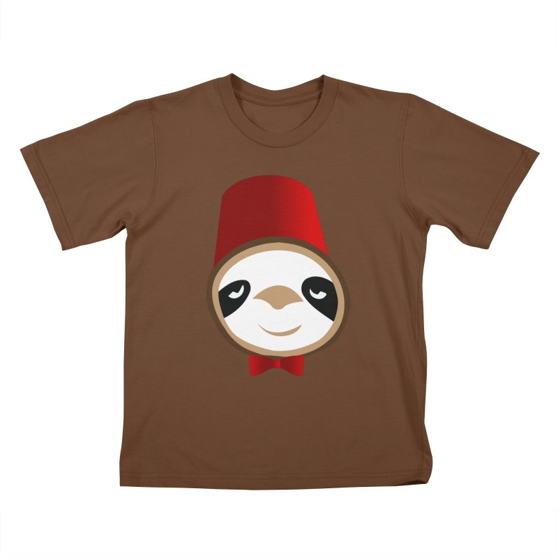 Doctor Sloth Kids T-Shirt by slothcrew's Artist Shop