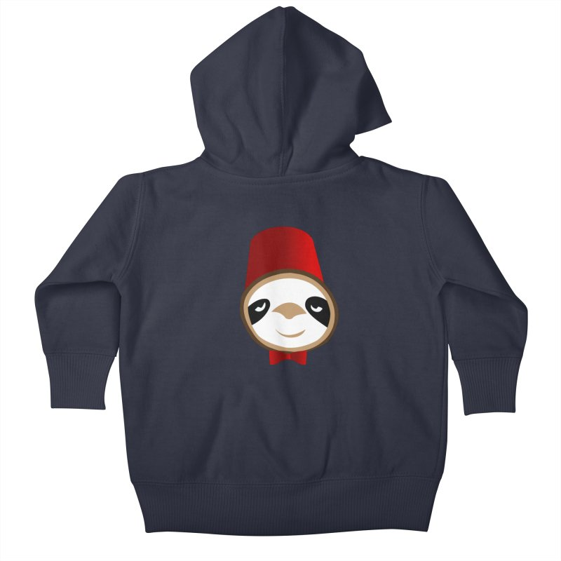 Doctor Sloth Kids Baby Zip-Up Hoody by slothcrew's Artist Shop