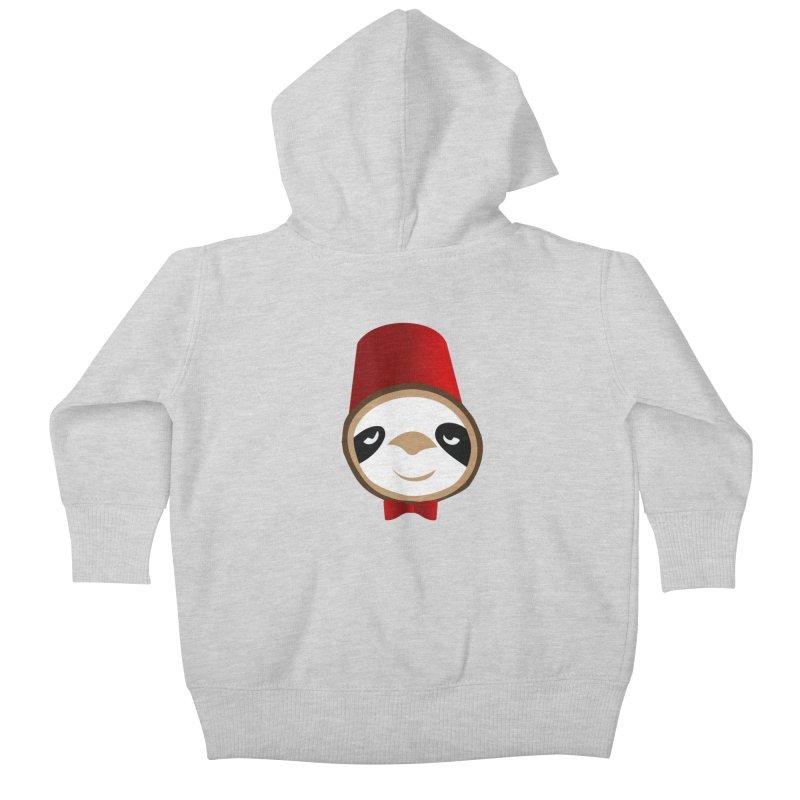 Doctor Sloth Kids Baby Zip-Up Hoody by slothcrew's Artist Shop