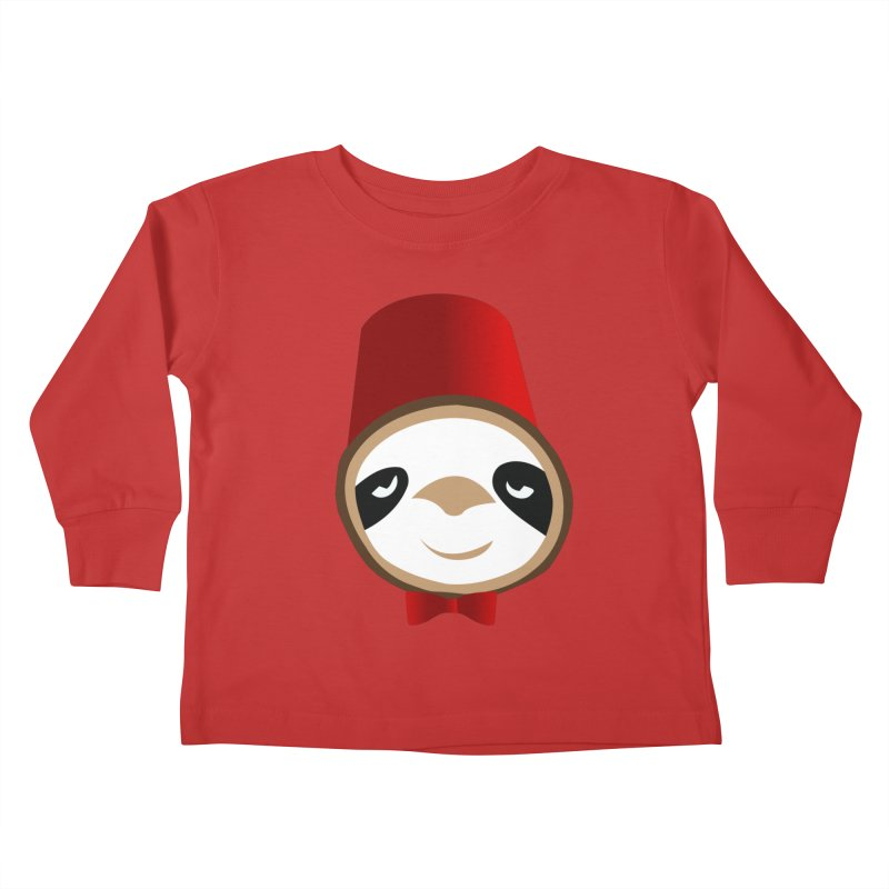 Doctor Sloth Kids Toddler Longsleeve T-Shirt by slothcrew's Artist Shop