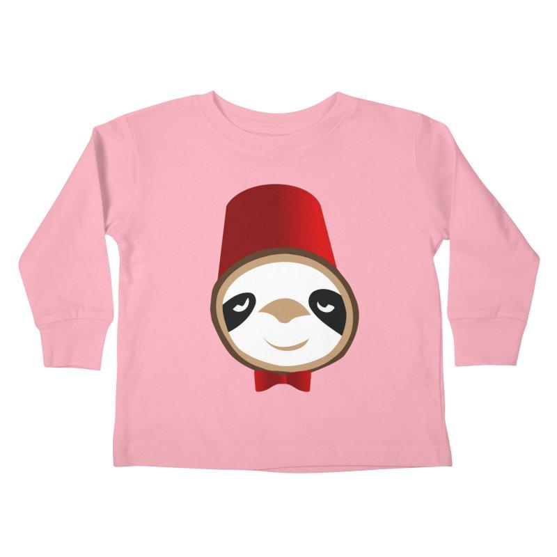 Doctor Sloth Kids Toddler Longsleeve T-Shirt by slothcrew's Artist Shop