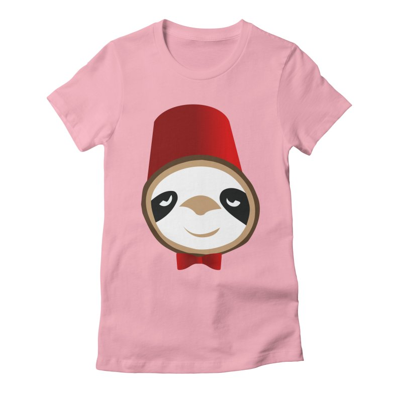 Doctor Sloth Women's Fitted T-Shirt by slothcrew's Artist Shop