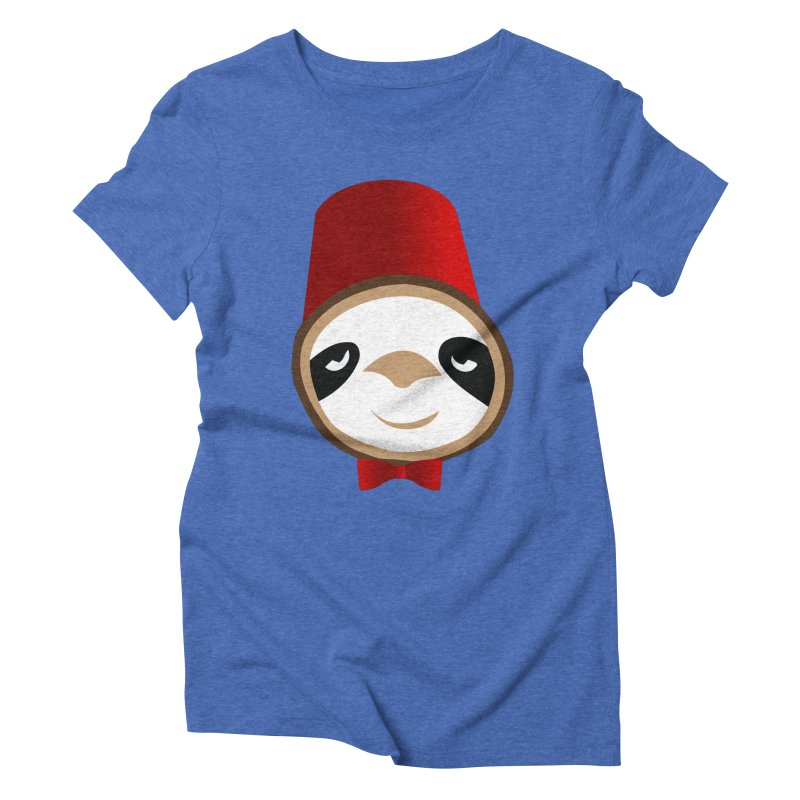 Doctor Sloth Women's Triblend T-Shirt by slothcrew's Artist Shop