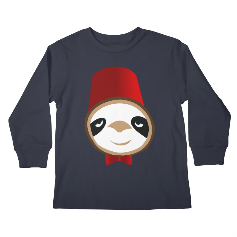Doctor Sloth Kids Longsleeve T-Shirt by slothcrew's Artist Shop