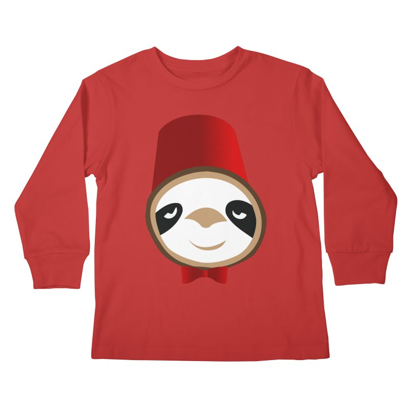 Doctor Sloth Kids Longsleeve T-Shirt by slothcrew's Artist Shop