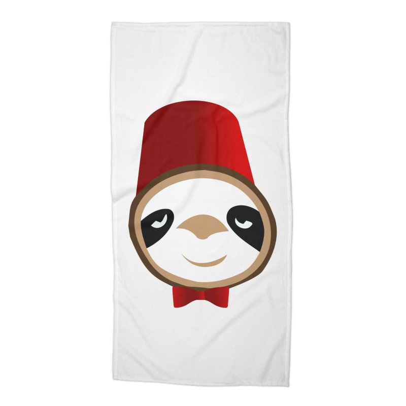 Doctor Sloth Accessories Beach Towel by slothcrew's Artist Shop