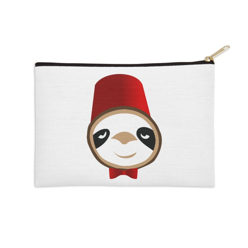 Doctor Sloth Accessories Zip Pouch by slothcrew's Artist Shop