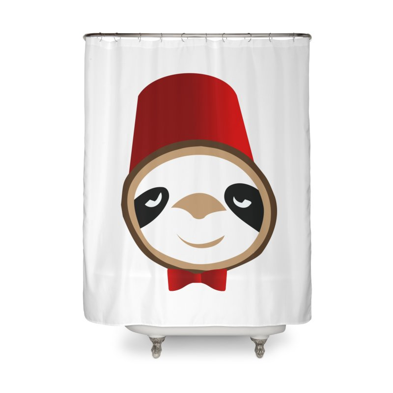Doctor Sloth Home Shower Curtain by slothcrew's Artist Shop