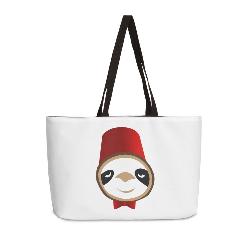 Doctor Sloth Accessories Weekender Bag Bag by slothcrew's Artist Shop