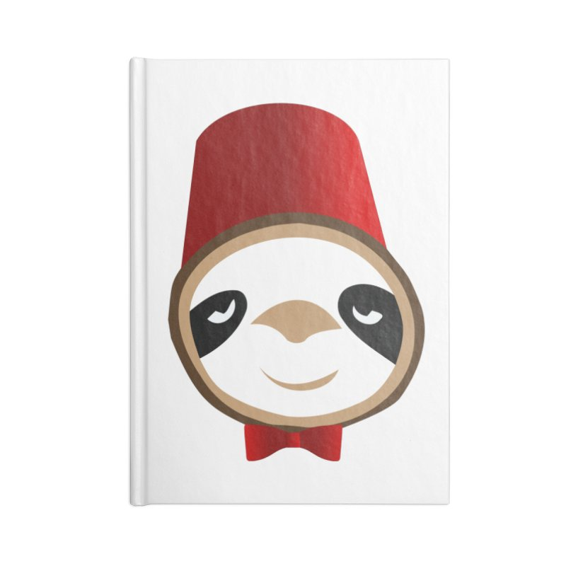 Doctor Sloth Accessories Lined Journal Notebook by slothcrew's Artist Shop