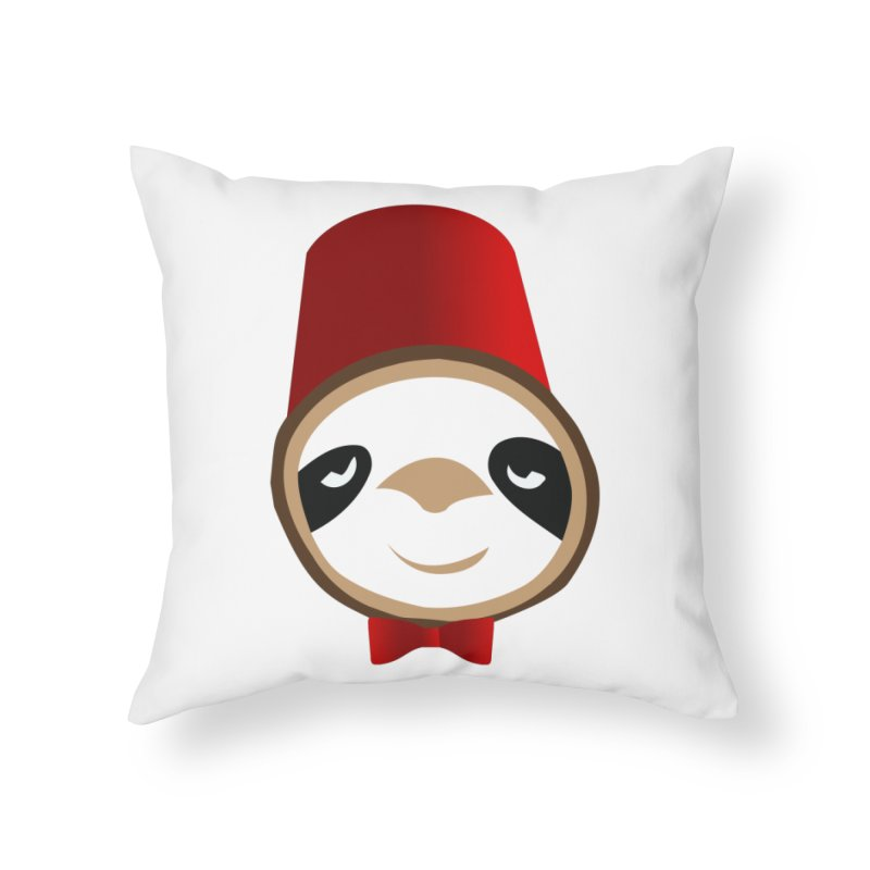 Doctor Sloth Home Throw Pillow by slothcrew's Artist Shop