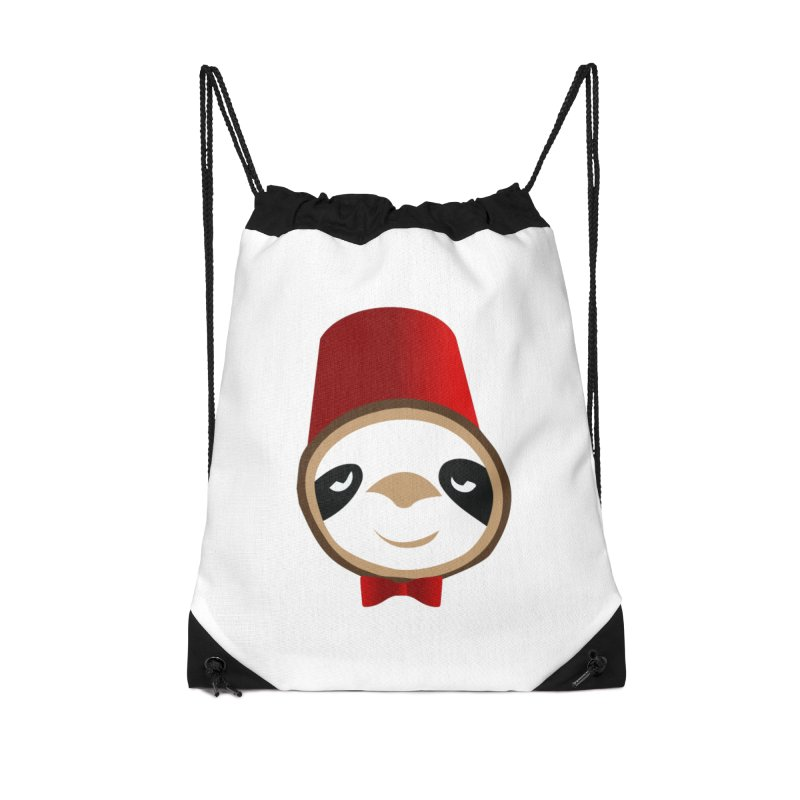 Doctor Sloth Accessories Drawstring Bag Bag by slothcrew's Artist Shop