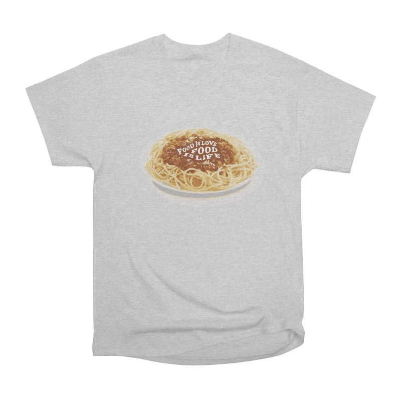 Food is Life Men's T-Shirt by slothcrew's Artist Shop