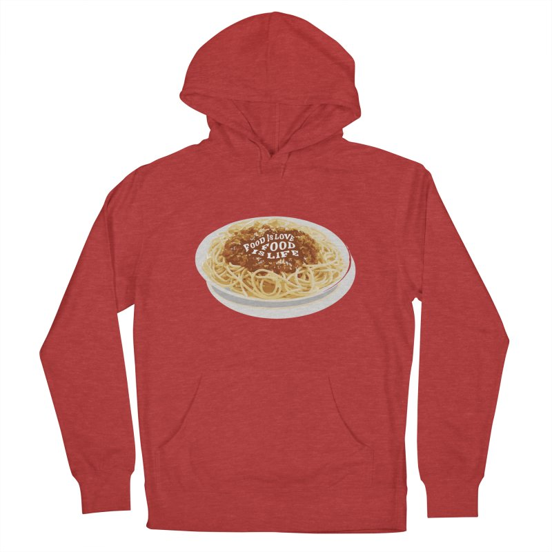 Food is Life Women's French Terry Pullover Hoody by slothcrew's Artist Shop