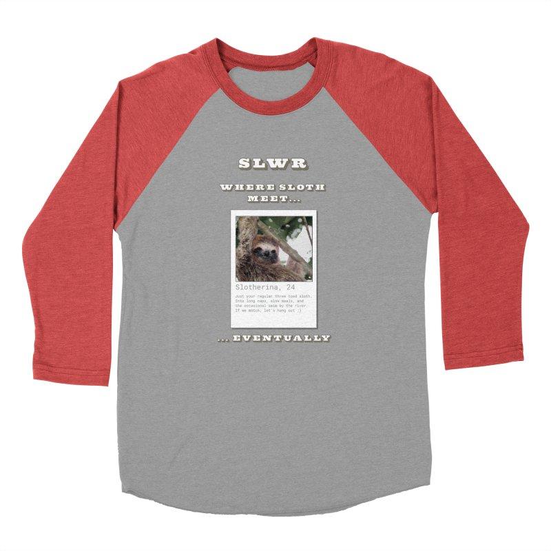 Slwr: Where Sloth Meet Men's Longsleeve T-Shirt by slothcrew's Artist Shop